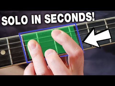 Play a Lead Guitar Solo Over ANY Chord Change in Less Than 15 Min  (NO SCALES!)