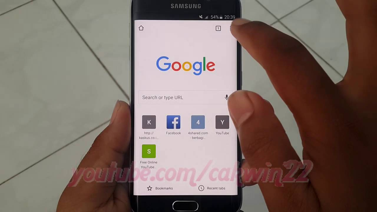 Samsung Galaxy S6 Edge : How to Enable or disable Data Saver Compress Pages in Google Chrome ...