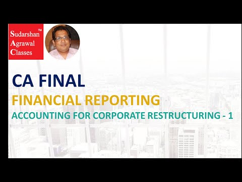 FR ACCOUNTING FOR CORPORATE RESTRUCTURING - 1