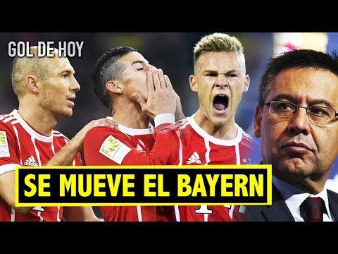 Atención: El 10 del Bayern puede retirarse   El Barcelona se quiere llevar joya del Bayern Munich