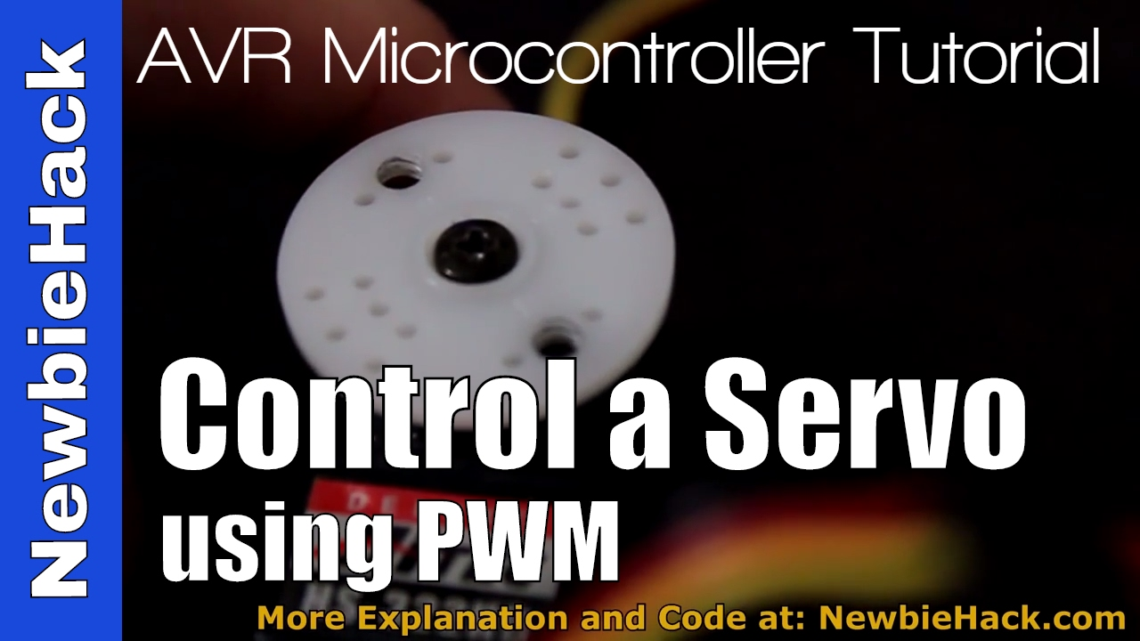 How to Control a Hobby Servo using an AVR (Atmel) Microcontroller