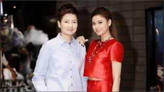 Trương Quỳnh Anh diện cây đỏ rực đi giao lưu(tin tuc sao viet)