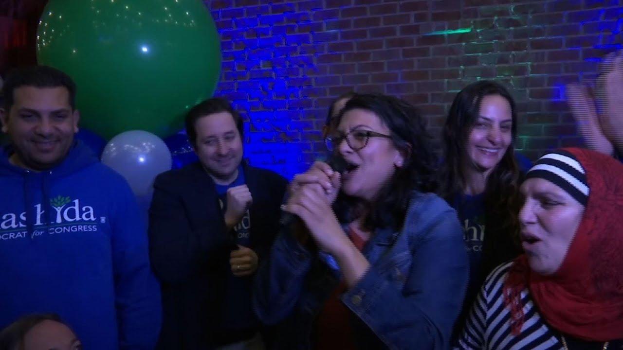 'Squad' member Rashida Tlaib wins reelection in Michigan | TheHill