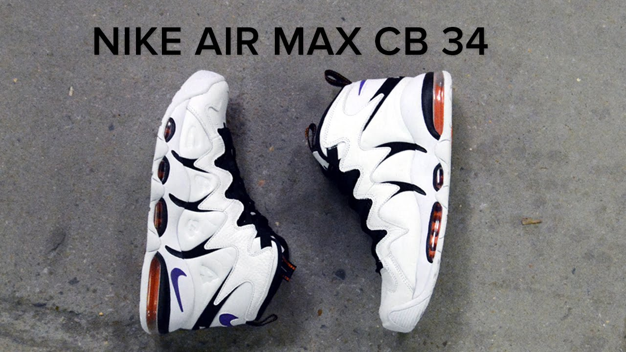 Nike Air Max CB 34 Quick On Feet Review - YouTube 1db2c6776
