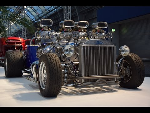 1927 Ford Model T Double Trouble: one-of-a-kind fire ...  |Double Trouble Hot Rod