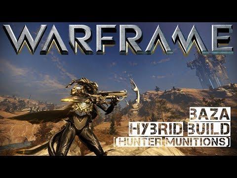 Warframe Baza - Hunter Munitions Hybrid Build (3 forma)