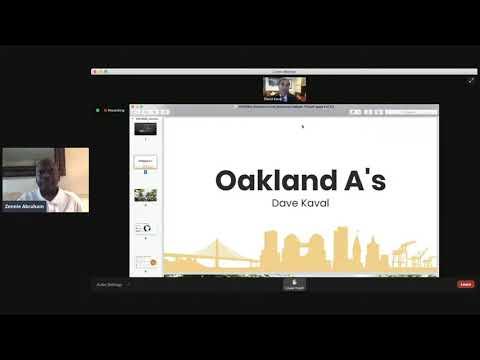 Dave Kaval Oakland A's President Howard Terminal Ballpark Presentation To Alameda County Board - Vlog