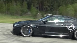 Cam2: Manhart Racing BMW M6 Coupe stage 4 700 HP vs MTM Audi RS6 Sedan 743 HP