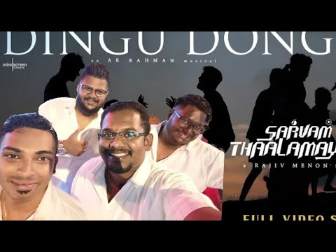 Dingu Dongu SONG - Sarvam Thaala Mayam Reaction | GV Prakash | ARRahman | Malaysian Boy |Shree C Dev