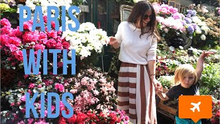 PARIS WITH KIDS | THINGS TO DO IN PARIS WITH CHILDREN | TRAVEL WITH KIDS Video