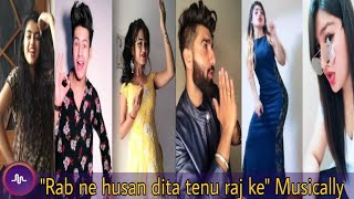 Rab ne husan dita tenu raj ke | Manjul Khattar,Mr.mnv, And More Indian Muser Cool trending musically