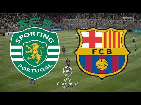 Champions League 2017/18 - Sporting Lisbon Vs Barcelona - 27/09/17 - FIFA 17