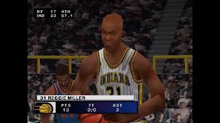 NBA Live 2000 (PSX): Pacers vs Knicks