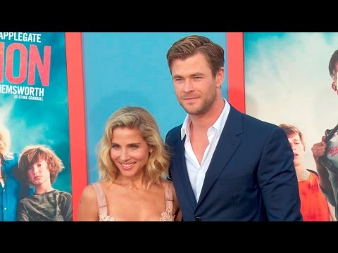 Chris Hemsworth & Liam Hemsworth at the Vacation Premiere