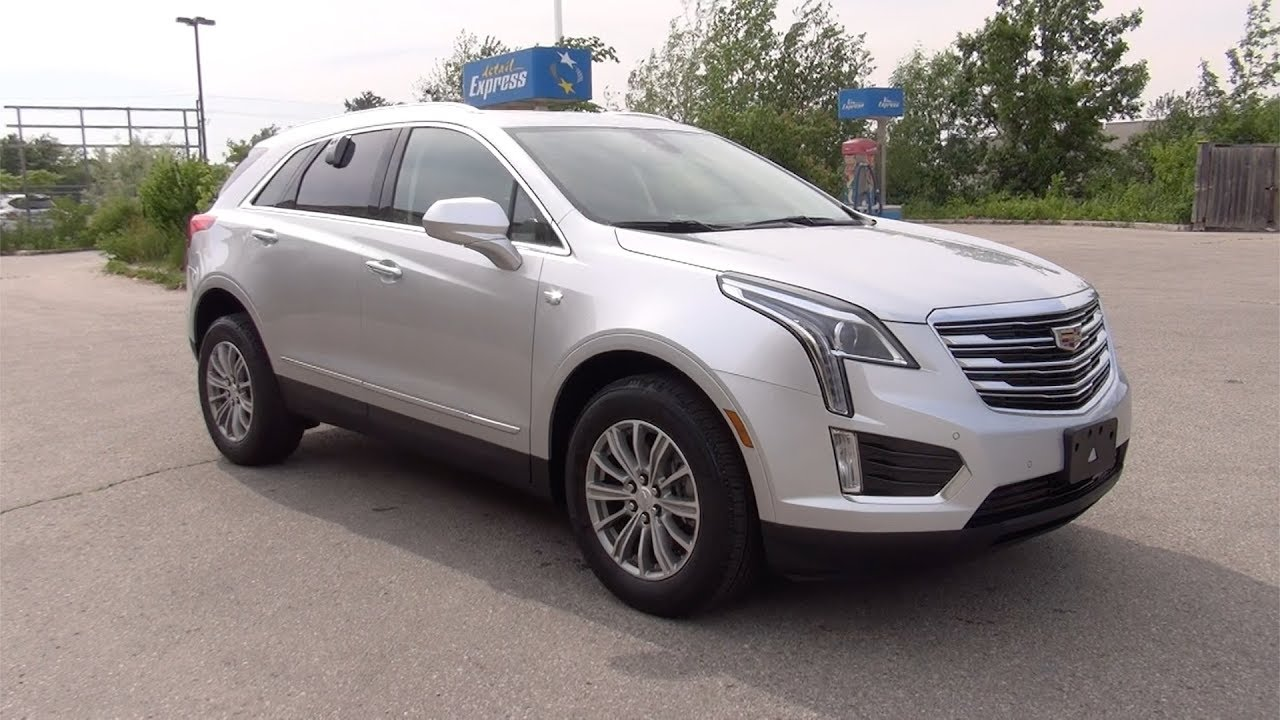 2017 Cadillac Xt5 Awd Luxury Radiant Silver Youtube