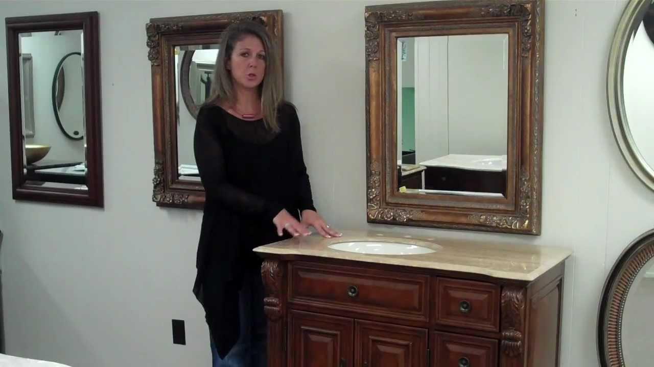 Offset bathroom vanities youtube - Bathroom vanity with right offset sink ...