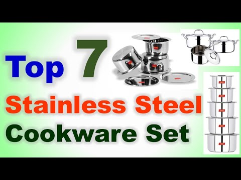 Top 7 Best Stainless Steel Cookware Set In India 2020 With Price | Cooking Utensils