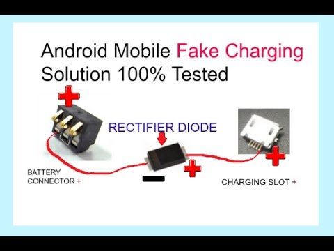 All Android Mobile Phones Fake Charging Problem100Solution - YouTube