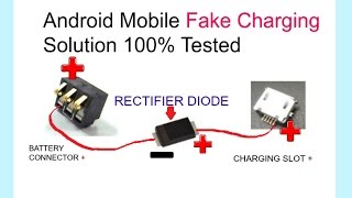 All Android Mobile Phones Fake Charging Problem100%Solution