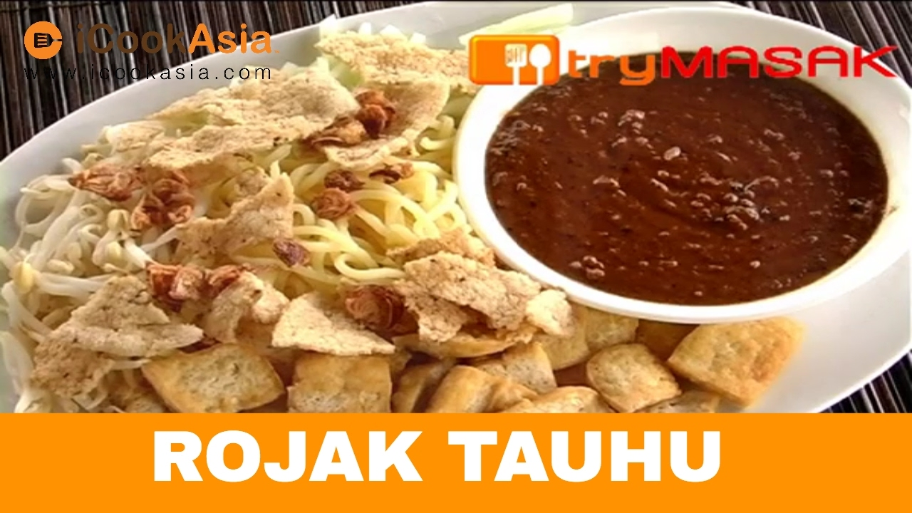 Rojak Tauhu Tofu Try Masak Icookasia