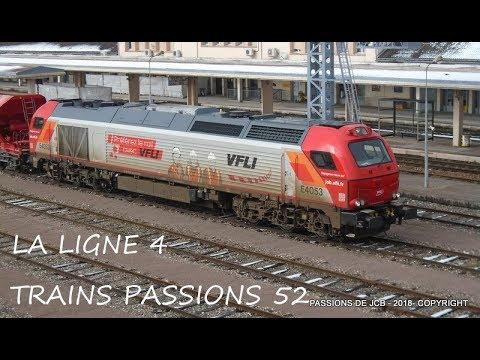 LIGNE 4 /FIN MARS  2018/train infra bb 75000/Vossloh euro 4000/Vossoh g 1206/bb 67000 infra