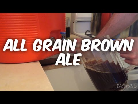 Homebrew Wednesday All grain brown ale