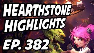 Hearthstone Daily Highlights | Ep. 382 | Savjz, xChocoBars, DisguisedToastHS, AmazHS, Firebat