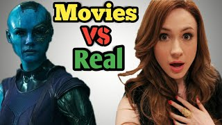 Top 10 Marvel Characters Who Are Gorgeous In Real Life    Movies Vs Real Life