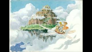 This is the main theme from the movie Laputa: Castle in the Sky.