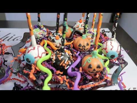 Halloween Cake Pops/ Cake Pops Para Halloween