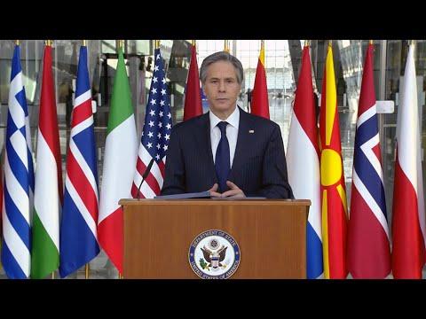 "Secretary Blinken's speech on Alliances and Partnerships"" from Brussels, Belgium"
