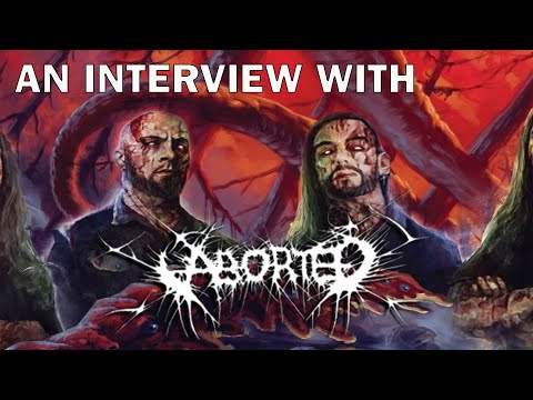ABORTED interview on the sonic trademark of their sound and the special guests on MANIACULT