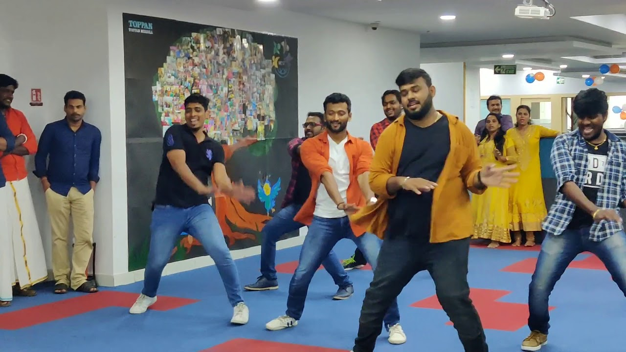 Freak style dance video - Tamil song - Dance performance at Office