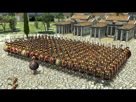 0 A.D. - THE GREAT SPARTAN ARMY