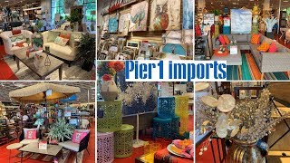 Pier 1 Imports Furniture Home Decor & Wall Decor | Shop With Me 2019