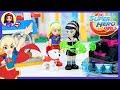 LEGO DC Super Hero Girls Lashina's Tank Build Review Silly Play Kids Toys