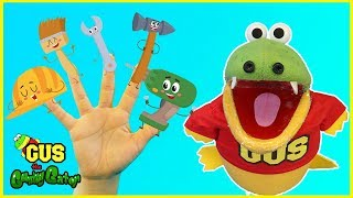 Family Finger Tools Nursery Rhymes for Kids