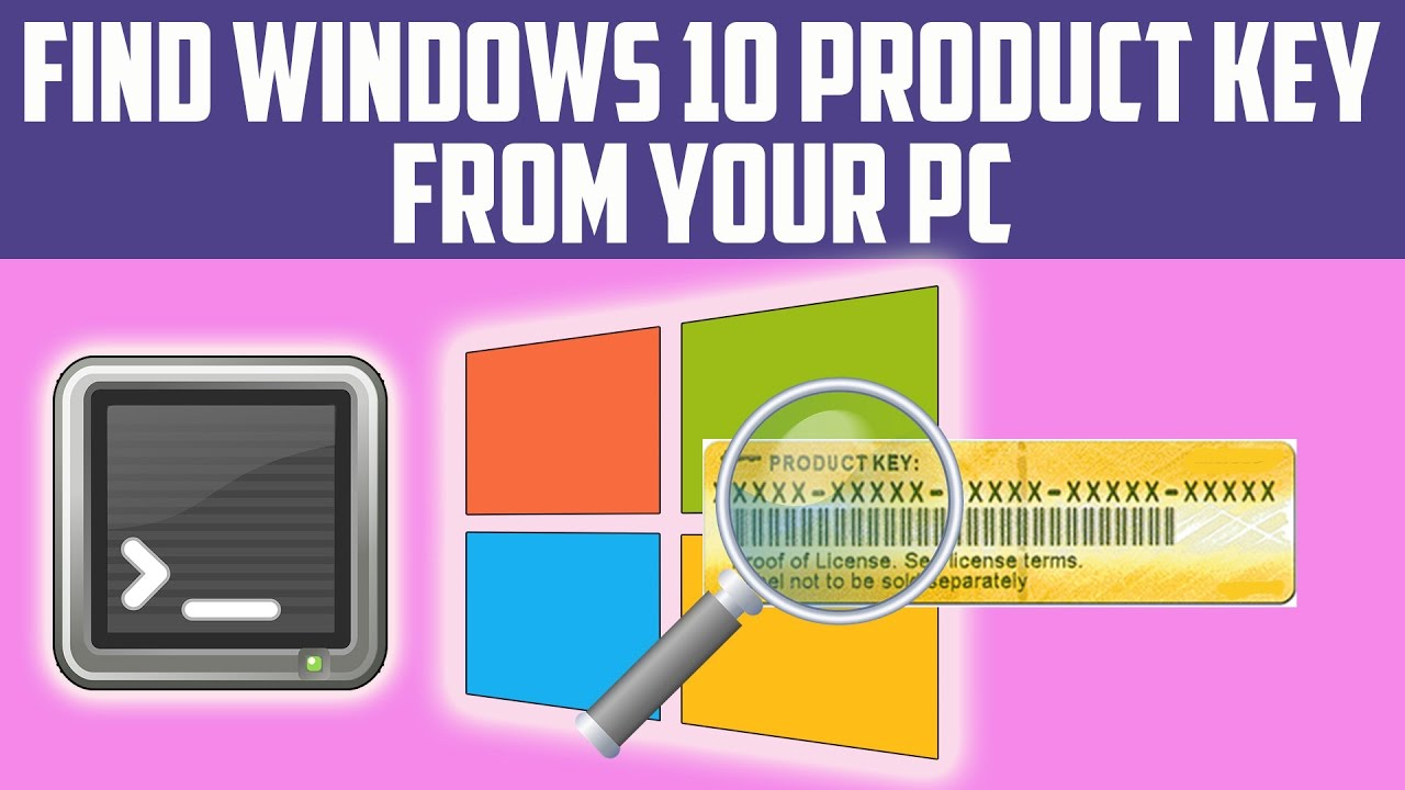 Find Windows 10 Product Key - Windows Product Key Viewer ...