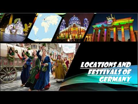 Location and Festivals of Germany