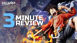 One Piece: Pirate Warriors 4 | Review in 3 Minutes (Video Game Video Review)