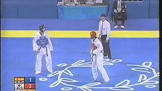 Moon Dae Sung KOR vs ESP Jon Garcia
