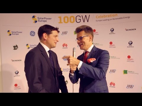 100GW of Solar in Europe - Wings for the Future: James Watson, CEO at SolarPower Europe