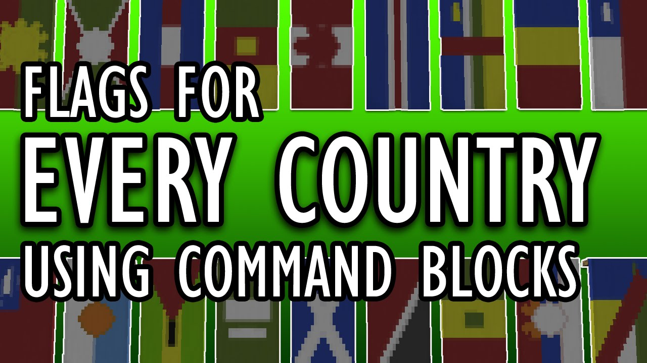 Every Country S Flag Setblock Banners In Minecraft By Theqmagnet