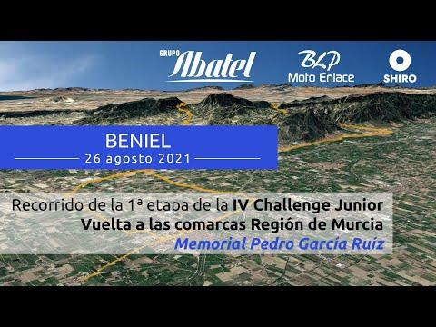 Beniel: Primera Etapa de la IV Challenge Junior Vuelta comarcas Región Murcia 2021