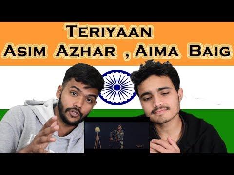 Indian reaction on Teriyaan | Asim Azhar & Aima Baig  | Swaggy D