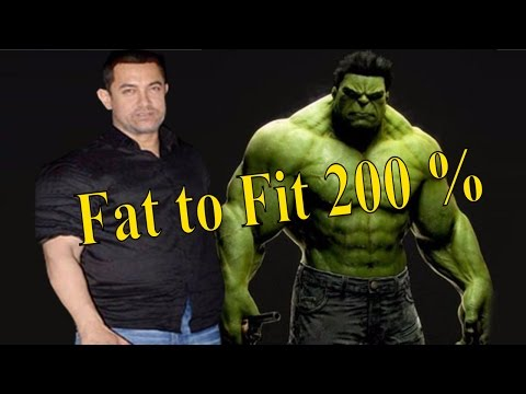 Dangal Fat to Fit || Aamir Khan's Health In Movie || Hindi/English