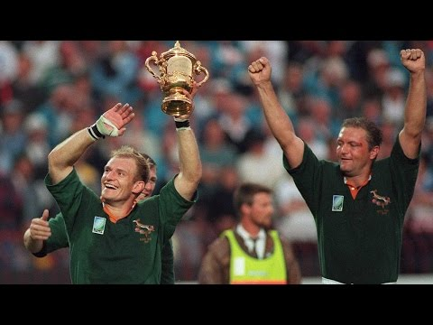 Springboks unite a nation: RWC 1995 final