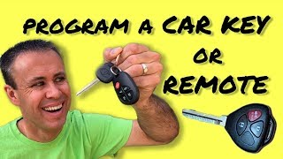 How to Program Car Keys and Remotes Yourself - Save Money