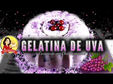Gelatina mosaico de uva con tres leches🍇🍇🍇😋