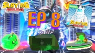 "Roblox- ""Slaying Simulator!"" {Episode 8} NEW SUBZERO!!!"